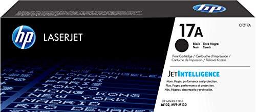 HP 17A | CF217A | Toner Cartridge | Black | Works with HP LaserJet Pro M102, M130