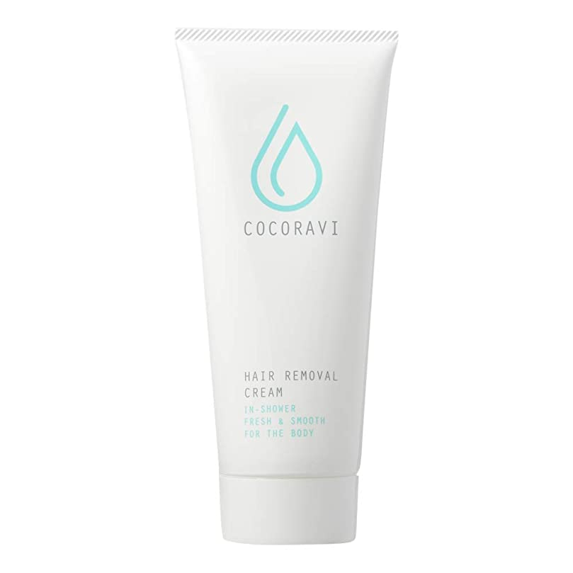 スキム自治的肺炎COCORAVI Hair Removal Cream (ココラビヘアリムーバークリーム) 除毛クリーム ボディ用 医薬部外品 スキンケア 美容 [内容量200g/説明書付き]