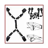 SYOneTo3 Yoga Fitness Ejercicio Estiramiento Correa, Entrenamiento de Flexibilidad de Pierna y Cintura, Entrenador de...