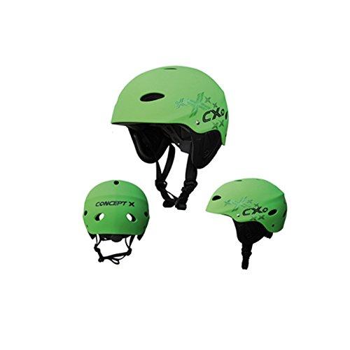 Concept X Casco CX Pro Verde Casco sport acqua: Dimensione: XS
