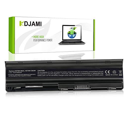 KDJAMI Batería para HP 593553-001 593554-001 MU06 MU09 636631-001G62 593550-001 593562-001 584037-001 Pavilion G7 G6 G4 DM4 CQ42 HSTNN-LB0W Presario CQ56 CQ57 CQ62——1 año Garantía (KDJMU06)
