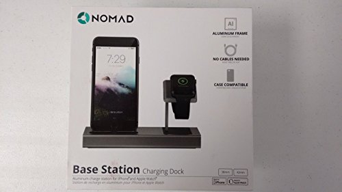 Nomad Base Station Charging Dock For Iphone And Apple Watch Bamp Camp 01 Buy Online In Guatemala At Guatemala Desertcart Com Productid 70108298