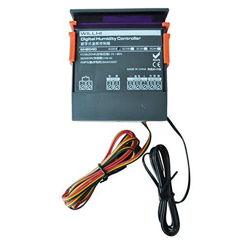 Lopbinte Controlador de control de humedad de aire digital de CA 220V WH8040