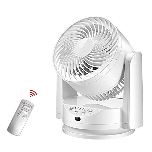 Ventilador turbo para hogar, ventilador de circulación de aire, con mando a distancia, turbina, convección