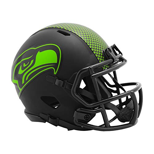 Riddell Speed Mini Football Helm - Eclipse Seattle Seahawks