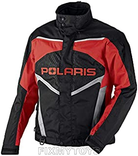Polaris OEM Mens Snowmobile Red Throttle Jacket Insulated Size S-3XL