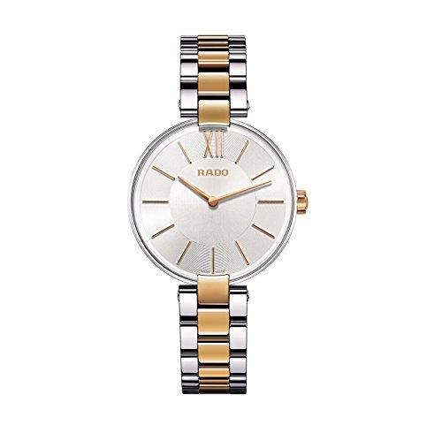 Rado Damen-Armbanduhr XS Analog Quarz Edelstahl 278.3850.4.010