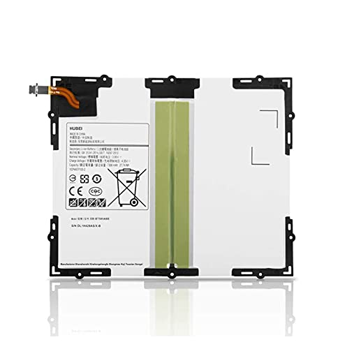 """EB-BT585ABA EB-BT585ABE GH43-04628A Reemplazo de la batería de la tableta para Samsung Galaxy Tab A 10.1 10.1"""" 2016 SM-T580 SM-T585(3G,4G/LTE &WiFi) SM-P580 SM-P585 SM-T585C SM-T587P(3.8V 7800mAh)"""