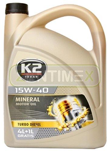 Motoröl Öl Mineral-Öl mineralisch 15W-40 Nanotechnologie Diesel-Motoren mit und ohne...