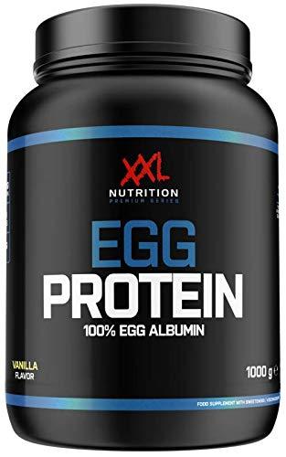 XXL Nutrition Egg Protein | Ei Eiweiß Fettfrei - Nur 0,2 Gramm Zucker | 1000g (Schokolade)