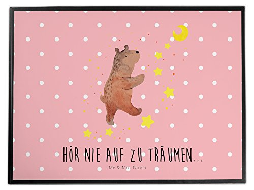 Mr. & Mrs. Panda Schreibtischunterlage Bär Träume - 100% handmade in Norddeutschland - Bär, Träumen, Traum, Traumdeutung Schreibtischunterlage, Schreibtisch, Unterlage