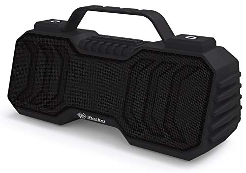 iRocker Portable and Rechargeable Rugged Bluetooth Speaker with Handle  iR300B