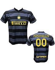 DND DI D'ANDOLFO CIRO Terza Maglia Inter Third Calcio Personalizzabile Replica autorizzata 2020-2021 Taglie da Bambino e Adulto. Personalizza con Il Tuo Nome o Il Nome del Tuo Giocatore Preferito.