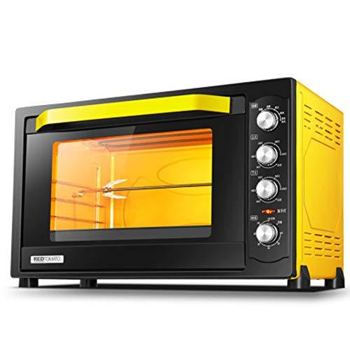 Digitale Ofen, Auftauprogramme Kindersicherung Automatische Anzeige Garzustands, Backofen mit Rotisserie, 80 Liter, 2200 Watt, 74 * 40 * 44 cm