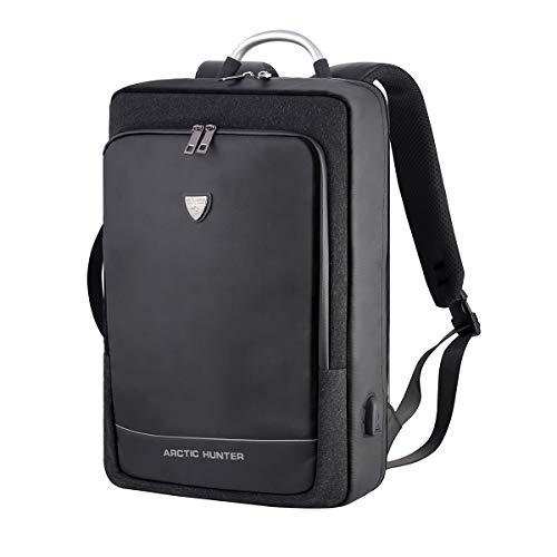 タウンリュック パソコンバッグ 3WAY メンズ 防水 USB充電ポート搭載17.3インチPCバッグ25L大容量
