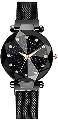 Luxury Women Watches Ladies Magnetic Starry Sky Clock Fashion Diamond Female Quartz Wristwatches