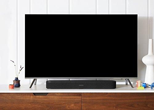 Sonos Beam Soundbar TV Smart, Compatibile con Alexa e Google Assistant Integrati, Nero