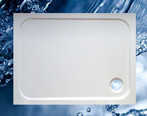 Duschbecken 1000x750 mm bzw. 750x1000 mm superflach/Duschwanne 100x75 cm bzw. 75x100 cm