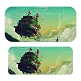 Howls Moving Castle Switch lite Sticker Pattern Protective Cover, a Full Set of Accessories Compatible with , Fun, Cute, Cool Game Skin Stickers