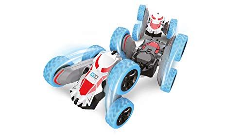 Amewi 22485 Big Spinstar Stuntfahrzeug 4WD 1:24 RTR, blau/rot