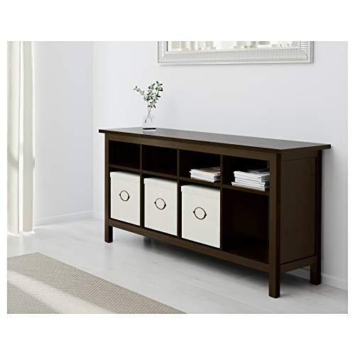 IKEA 002.518.09 Hemnes - Mesa Consola, Color Negro y marrón