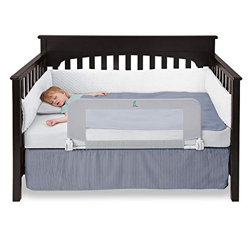 Hiccapop Convertible Crib Toddler Bed Rail Guard Product Image