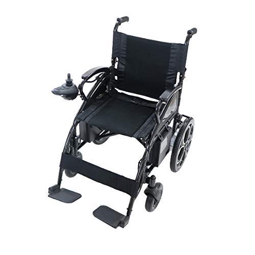 電動車椅子 黒 折りたたみ 車椅子 TAISコード取得済 コンパクト ノーパンクタイヤ 電動 手動 充電 電動ユニット 電動アシスト 電動カート 折り畳み 車椅子 車イス 車いす 四輪車 4輪車 移動 介護 電動車いす ブラック scootere01bkb