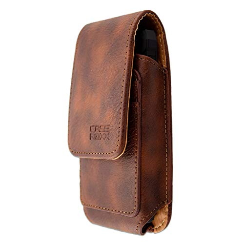 caseroxx Outdoor Tasche für Crosscall Spider X4, Tasche (Outdoor Tasche in braun)