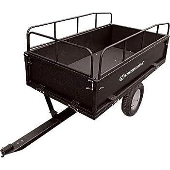 Strongway Steel ATV Trailer - 1200-Lb Capacity 17 Cu Ft.