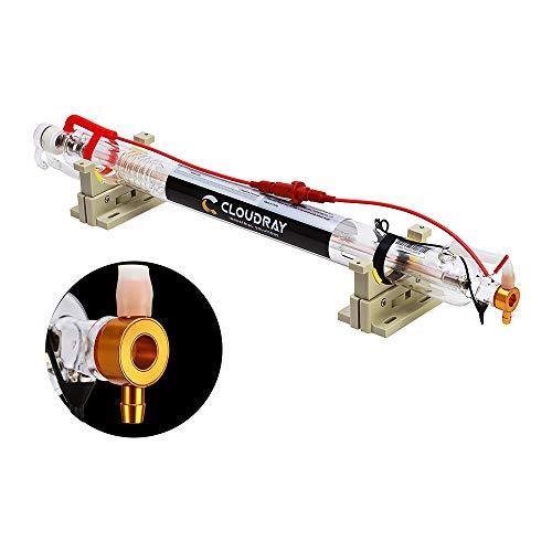 Lampada tubo laser CO2 Cloudray Tubo di vetro 40W per macchina da taglio e incisione laser CO2 Lunghezza 720mm Dia. 50mm Laser Tube
