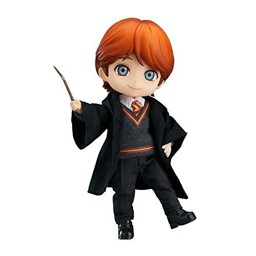 Figura de Ron Weasley versión Q, modelo de personaje de Harry Potter de 3.9 pulgadas, múltiples accesorios incluidos, Nendoroid móvil, figura de chica de anime de PVC (para colección de regalos)