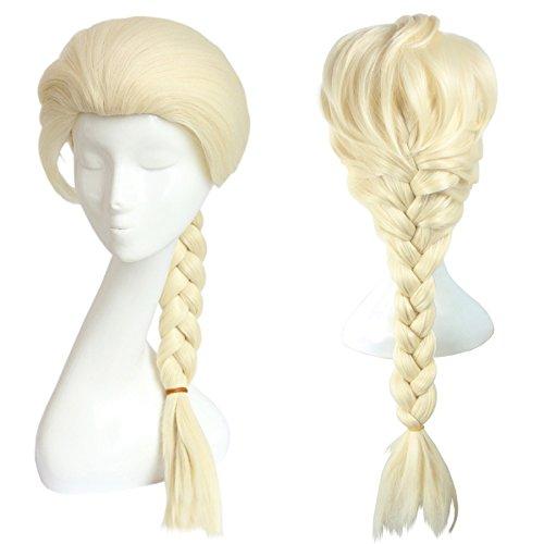 Cosplay Perücke für Eiskönigin Fans | Prinzessinnen Wig von Elsa | Blond
