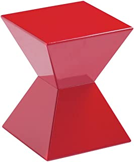 Sunpan Modern Urban Unity End Tables, Red