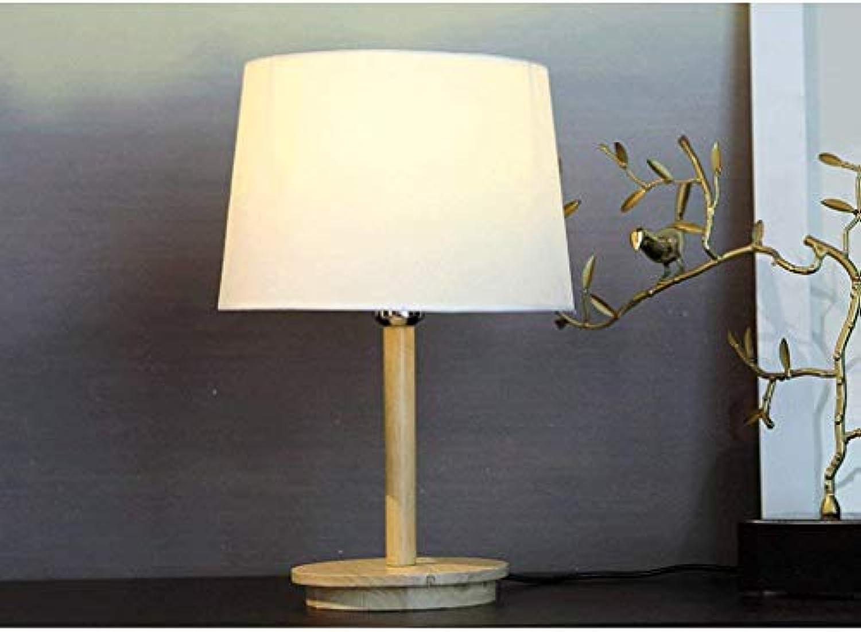 SED Tischlampe-Kreative Persnlichkeit Holz Tischlampe Kreative Mode Minimalistischen Schlafzimmer Den Wohnzimmer Lampen Bettwsche, Nachttischlampe Lesen Nachtlicht