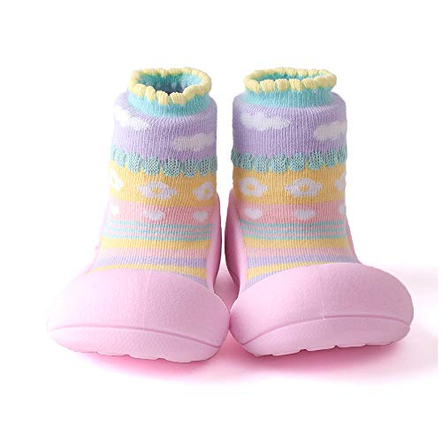 Attipas [Atipasu Chaussures bébé [Atibebe] S (10.8cm) :. 1 Rose