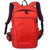BBGSFDC Bolsa para cámara réflex profesional antirrobo, bolsa para fotografía de cámara, mochila impermeable para portátil, color rojo, tamaño pequeño