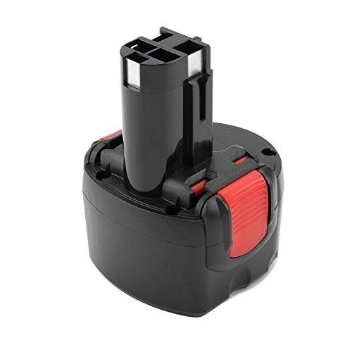 Exmate Ni-MH Batería 9.6V 4.5Ah para Bosch BAT048 BAT100 BAT119 BPT1041 BH984 23609 32609 2607335260 2607335272 PSR960 GSR 9.6VE-2 GSR 9.6-2