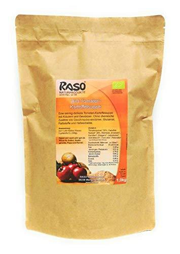 Bio Tomaten Kartoffel Suppe 1 Kg Instant Suppe Tomaten Kartoffel Creme Suppe Pulver von RASO Naturprodukte Allgäu