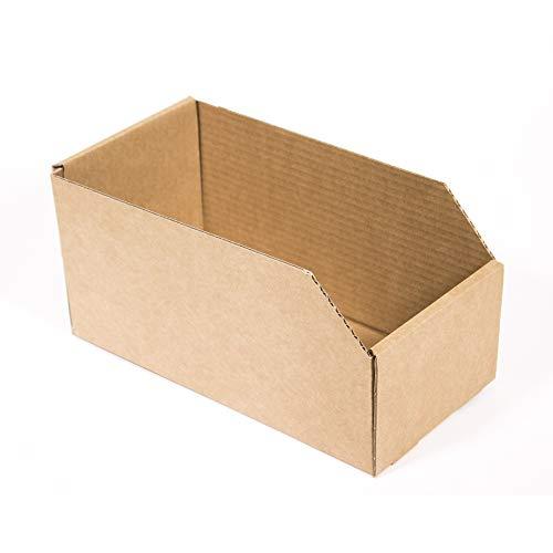 Kartox | Caja de Almacenaje de Cartón Abierta. Gaveta | 10 Unidades | Talla L