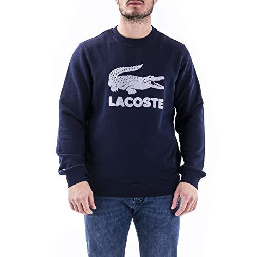 Lacoste Sh2167 Maglione, Marine, 8 Uomo