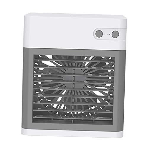 MagiDeal Aire Acondicionado Personal, Mini Enfriador de Aire portátil, Enfriador evaporativo 3 en 1, humidificador, purificador con Ventilador de refrigeración - Blanco