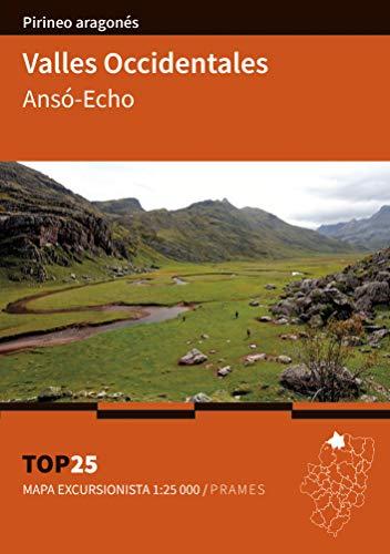 Mapa Top 25 Valles Occidentales. Ansó-Echo