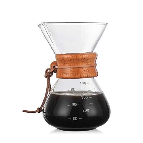 Classic Espresso 400Ml/1 kopjes koffiezetapparaat trechter stijl giet over koffiemachine koffiemachine Filter koffiepot Barista 400 ml.