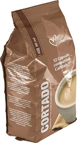 Caffitaly Cafe con Leche - Cortado - 60 Cápsulas