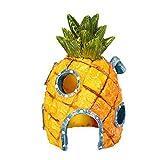 Gofeibao Accesorios Acuarios y Peceras Decoracion de Acuarios Decoración del Acuario Acuario Accesorios Decoración Accesorios de pecera Tropical Pineapple 1