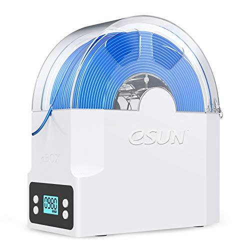 eSUN Caja Secadora para Filamento de Impresora 3D, eBox Caja Almacenamiento, Mantener Filamento Seco y Medir Filamento Peso, Soporte de Carrete, Compatible con Filamento de PLA, PETG, ABS