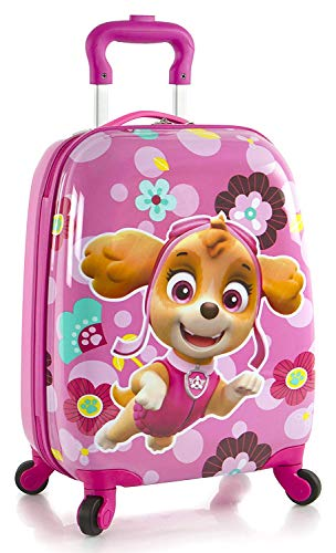 Nickelodeon PAW Patrol Girl's 18' Rolling Carry On Luggage