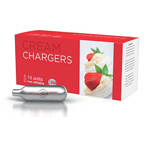 Impeccable Culinary Objects (ICO) ICON810-G Cream Charger, Steel