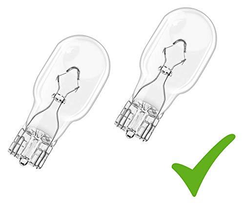 Set! 2 x Auto-Lampe Glühlampe W16W 12V 16W W2,1x9,5d Blinklichtlampe Bremslicht Blinklicht Rückfahrlicht