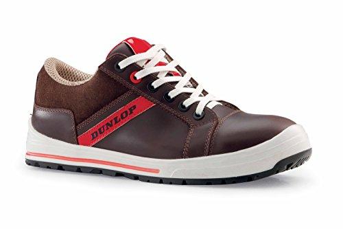 Dunlop DL0201007-43 Zapatos de protección laboral S3 SRC, Marrón, 43